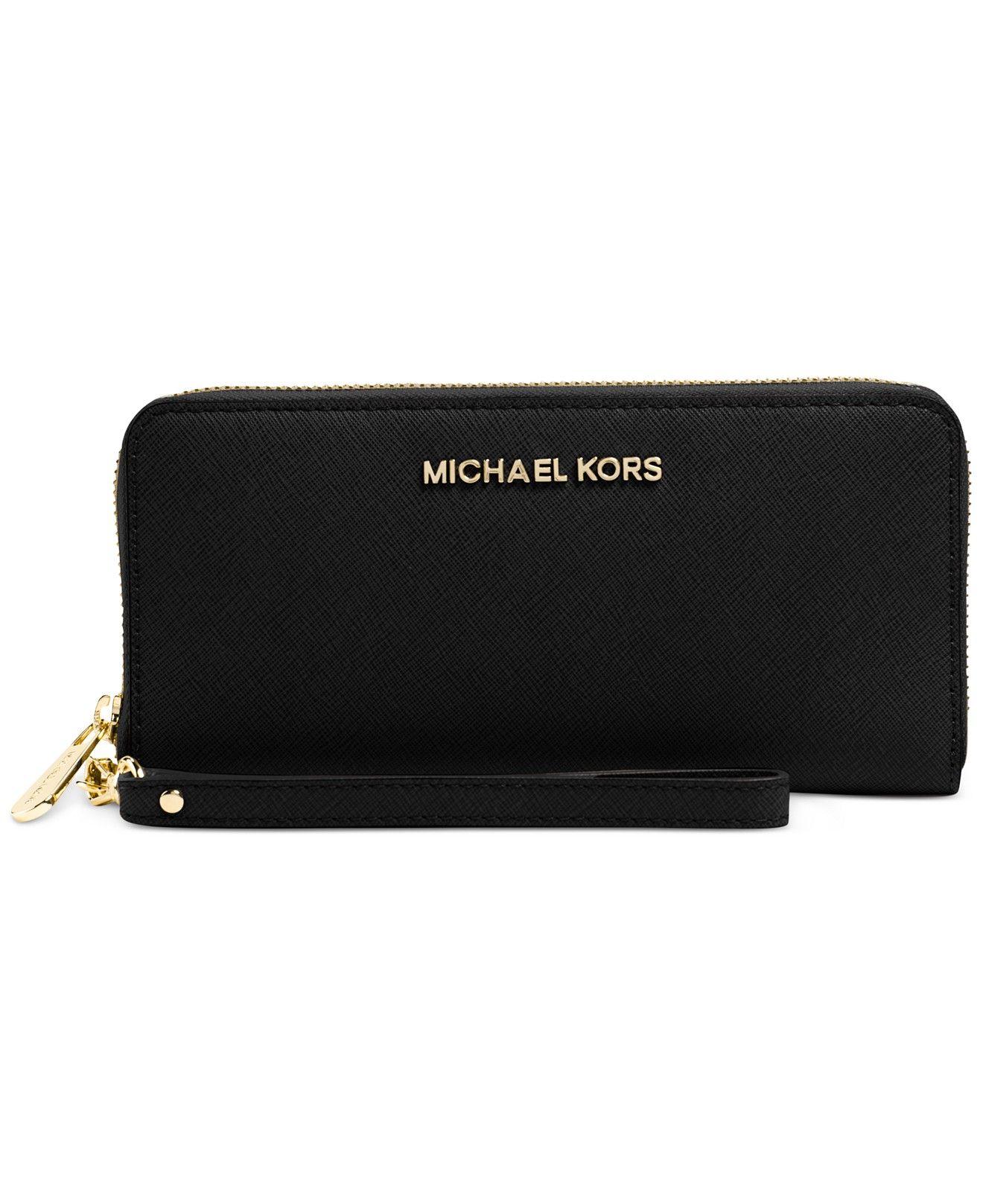 105010f1fa46 MICHAEL Michael Kors Jet Set Travel Tech Continental Wallet - will fit my  phone too