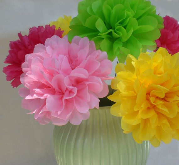 Tissue paper flower directions vaydileforic tissue paper flower directions mightylinksfo