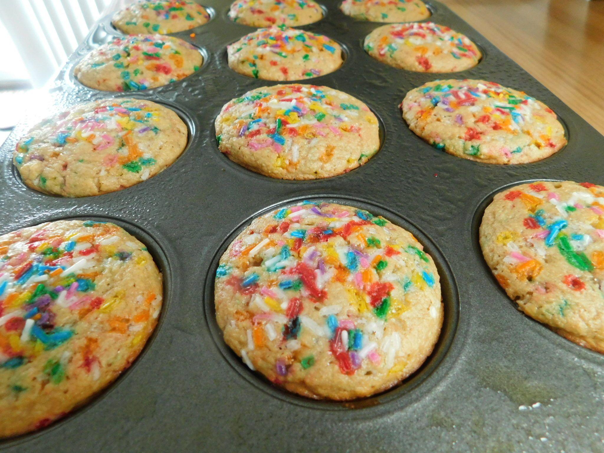 Kodiak sprinkle muffins drizzle me skinny recipe