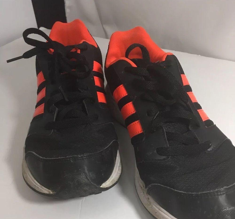 adidas neo noir et orange