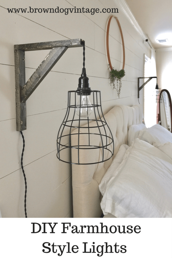 Easy and Affordable DIY Industrial Farmhouse Pendant