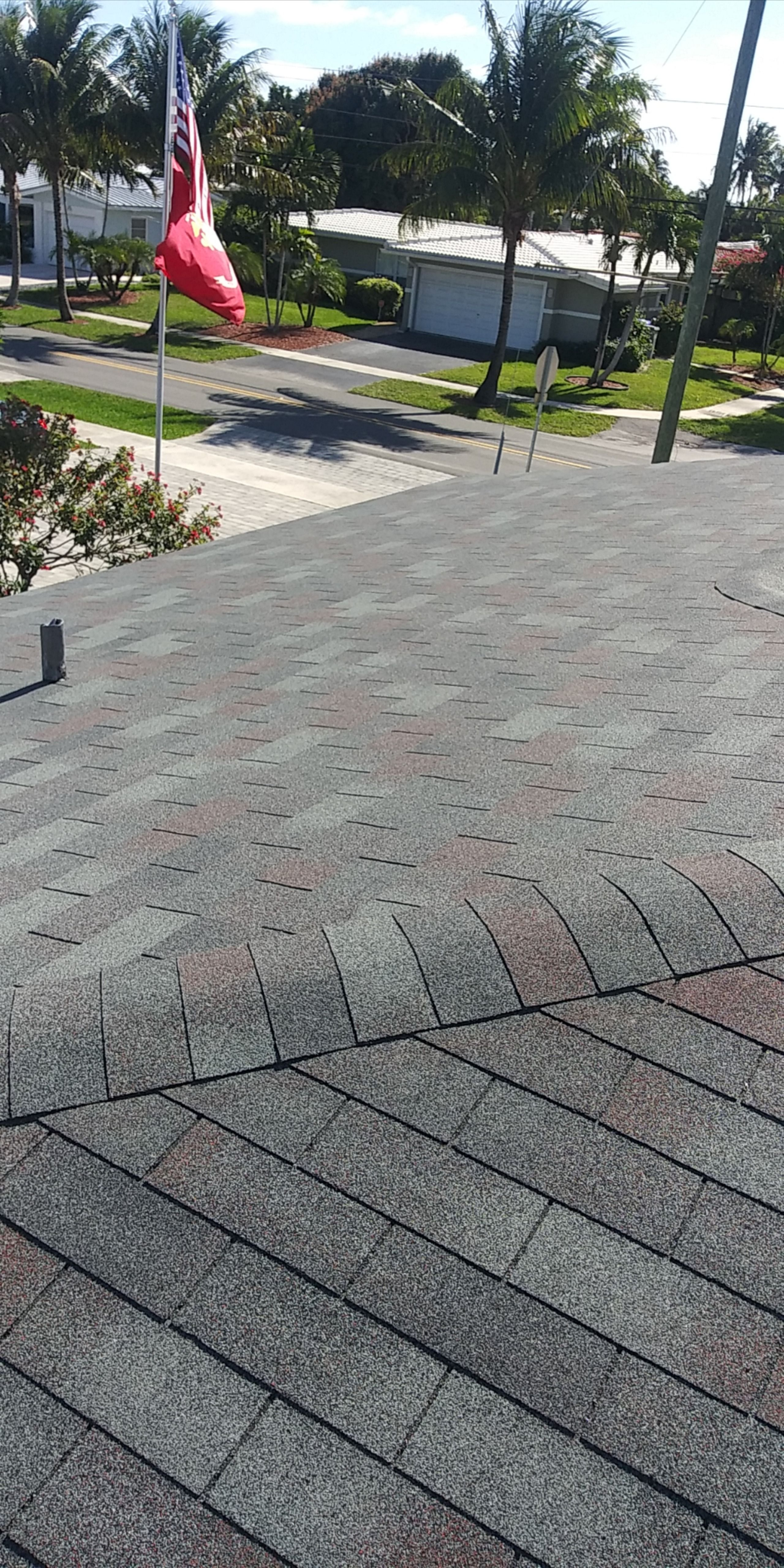 Best Certainteed Xt 25 Slate Color Shingle Re Roof In Pompano 400 x 300