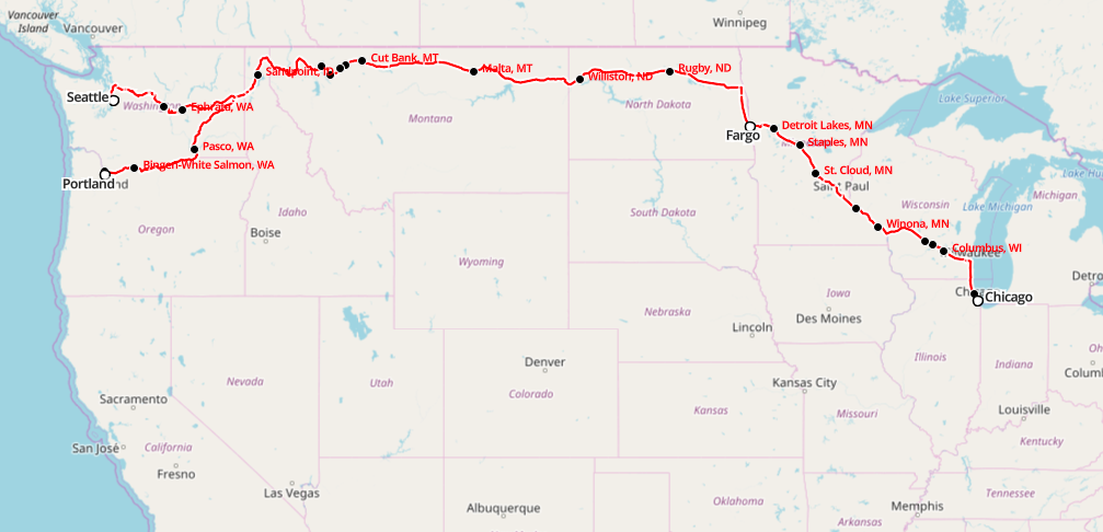 Across The Us By Rail Amtrak Empire Builder Review Best Travel