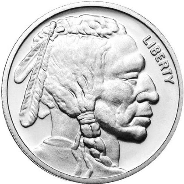 99 9 Pure Silver American Buffalo And Indian Head Half Troy Ounce Silver Bullion Buy Gold And Silver Silver Coins