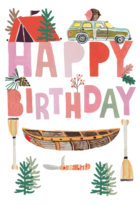 Nature Wisdom Birthday Card Greetings Island Happy Birthday Cards Printable Birthday Cards Diy Birthday Card Messages