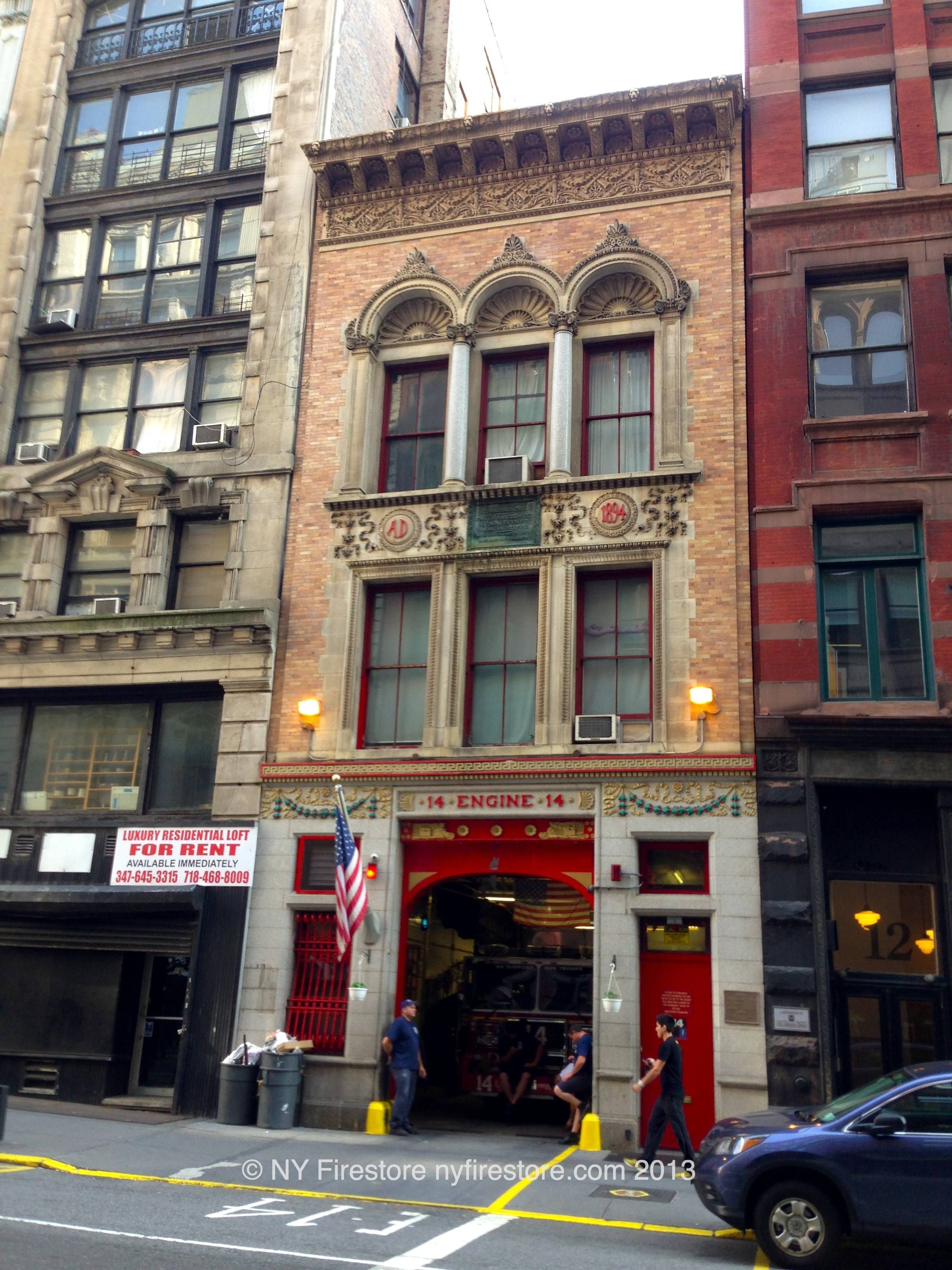 Fdny Station 14 Sweet 14 Located On E18th St Fire Service
