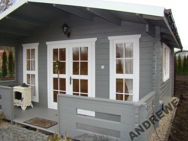 Domek Z Bali Letniskowy Drewniany Na Dzialke 27m2 4120801399 Oficjalne Archiwum Allegro Dream House House Summer House