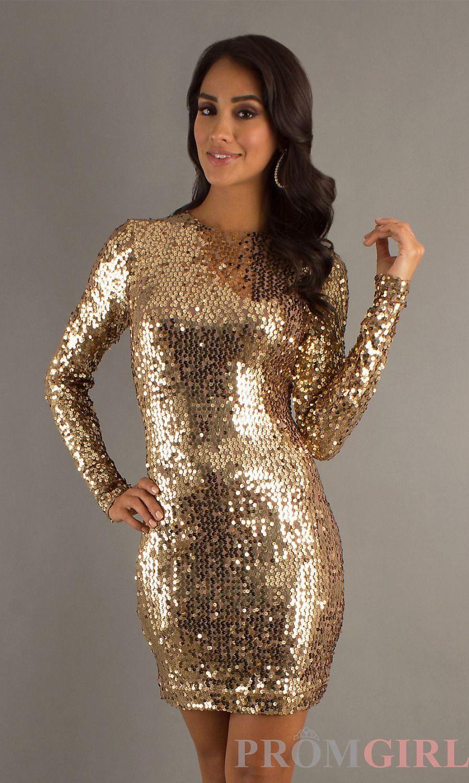 Gold new years dress | Fashion | Pinterest