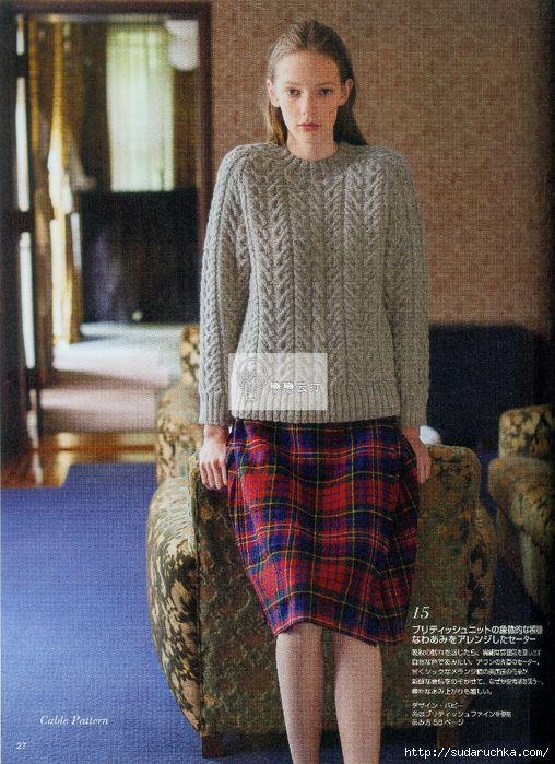 27 (508x700, 374Kb) | mis tejidos favoritos, crochet and knitting ...