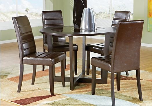 Shop For A Mabry Brown 5 Pc Dining Room At Rooms To Gofind Amusing Rooms To Go Dining Room Set Decorating Inspiration