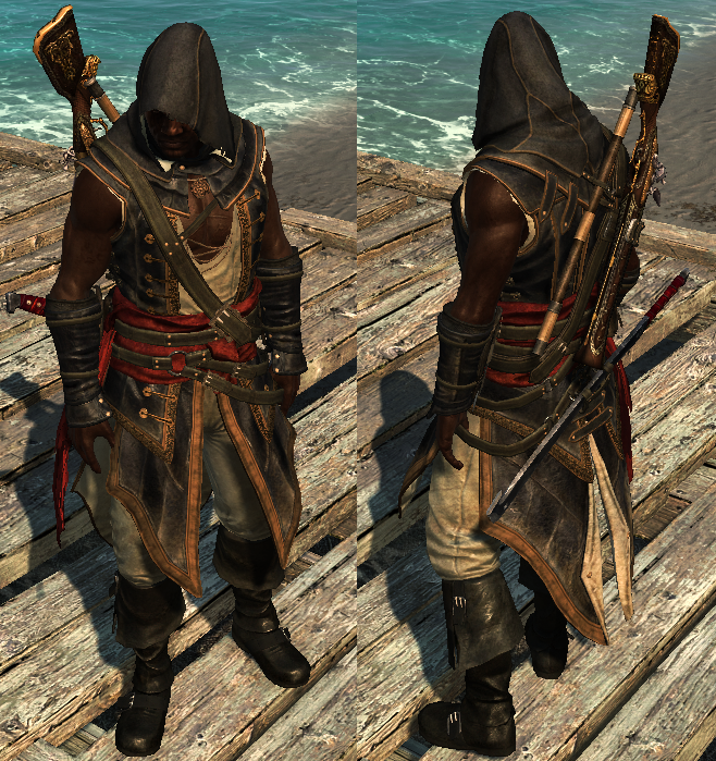 Assassin S Creed Iv Black Flag Outfits Assassin S Creed Wiki Fandom In 2020 Assassins Creed Assassin S Creed Assasins Creed