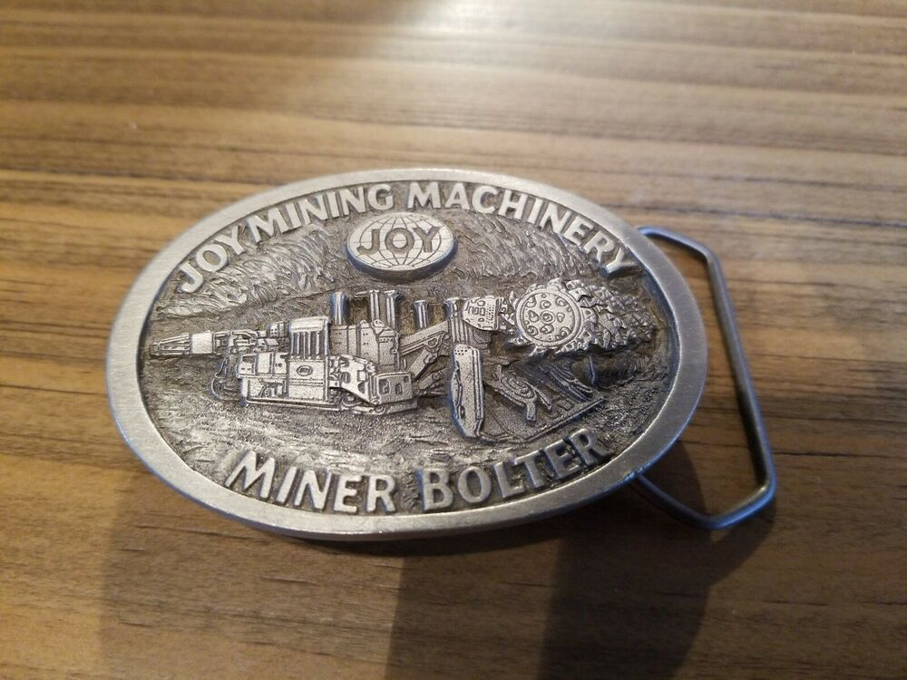 Joy Mining Belt Buckle Limited Edition #142 #fashion