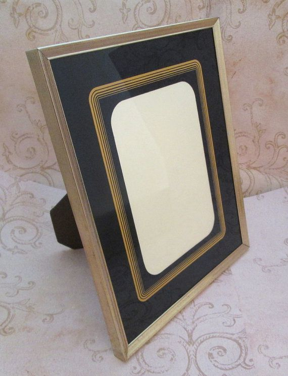 8x10 Picture Frame Vintage Metal Photo Frame Art Deco Style Frames