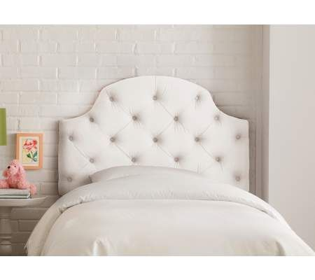 Tori White Twin Size Tufted Headboard   55DowningStreet.com   Teen ...