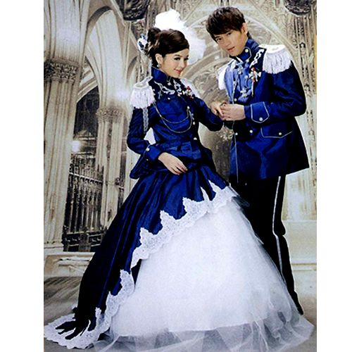 creative blue adult colonial victorian edwardian military couples halloween costumes halloween costumes 2013 these look fun - Masquerade Costumes Halloween