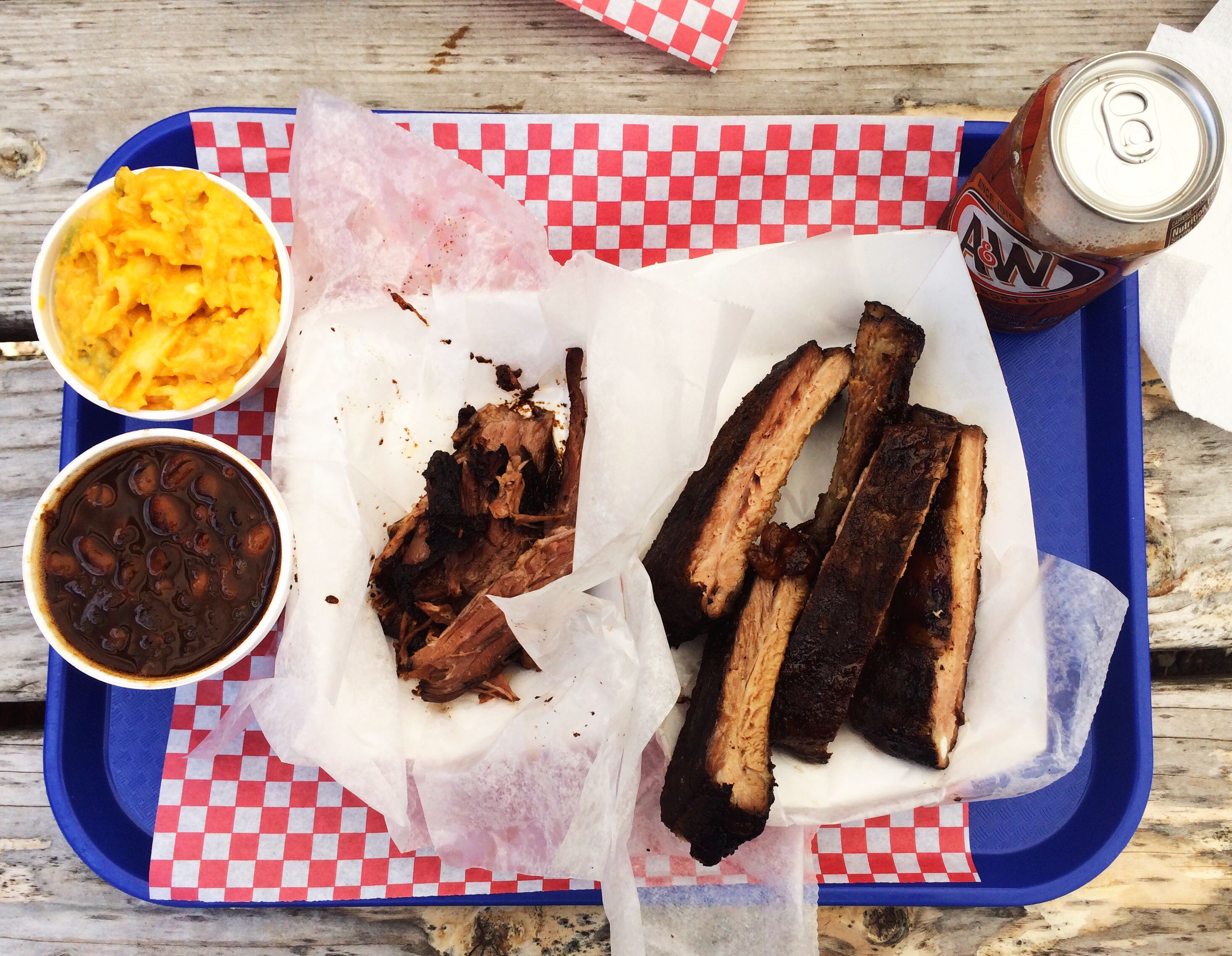 Eat at Triple Crown BBQ in the Shenandoah Valley, Virginia