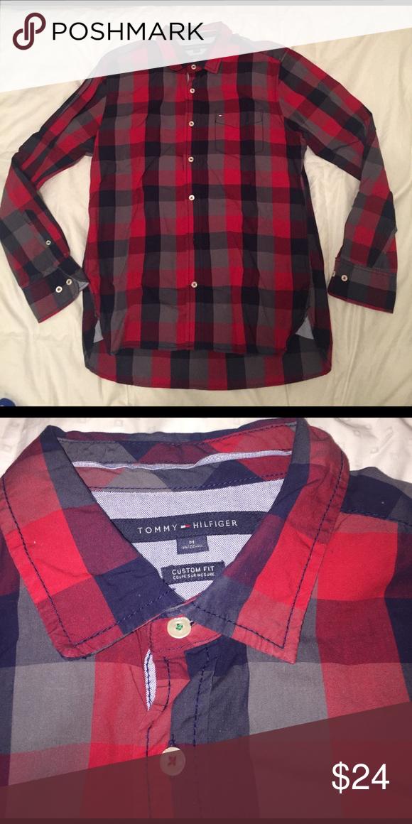 TOMMY HILFIGER Dress shirt TOMMY HILFIGER Dress shirt. Size Medium. Tommy Hilfiger Shirts Casual Button Down Shirts