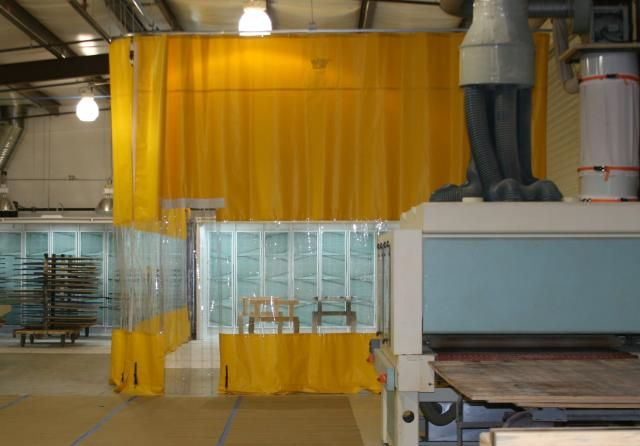 Wood Shop Curtains Industrial Curtains Plastic Curtains Room