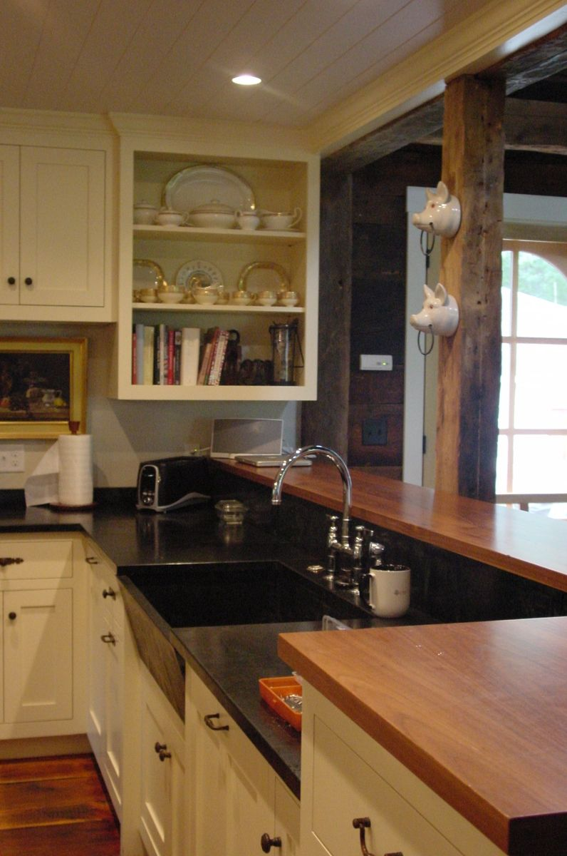 Walnut counters kitchen interior room layouts and ideas