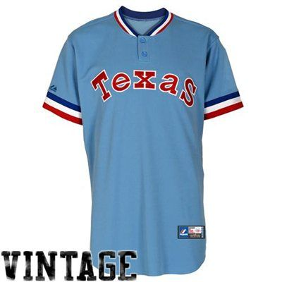 free shipping 36f94 04331 Majestic Texas Rangers Cooperstown Collection Throwback ...