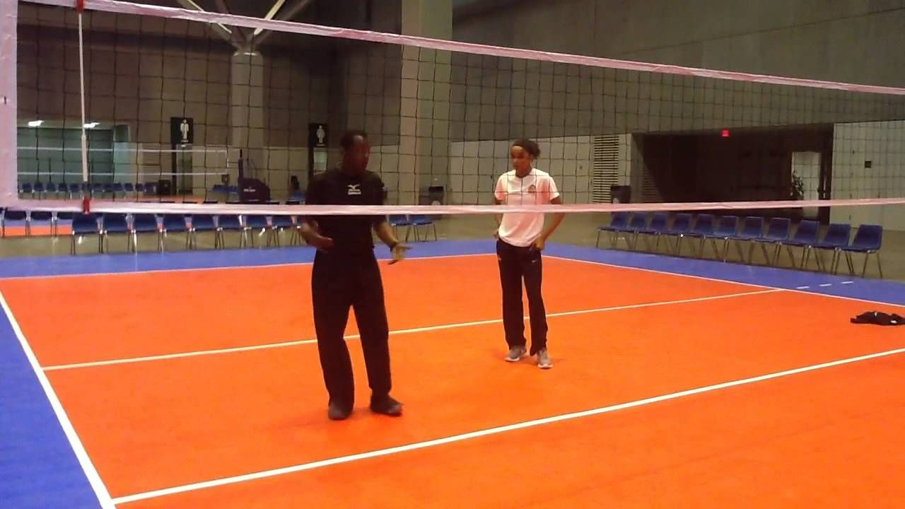 Volleyball Middle Blocker Training Block Transition To Quick Attack Alyiah Wells Memphis Volleyball Volleyball Tips Coaching Volleyball Volleyball Drills