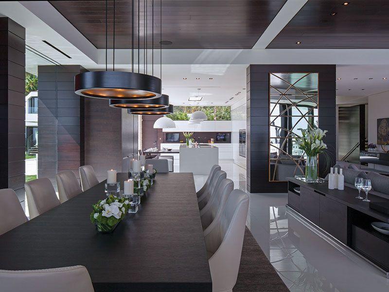 Design und extremer Luxus in einer 35 Millionen Dollar-Villa in ...