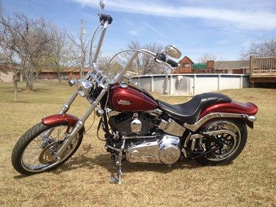2010 Harley Davidson Fxstc Softail Custom With Images