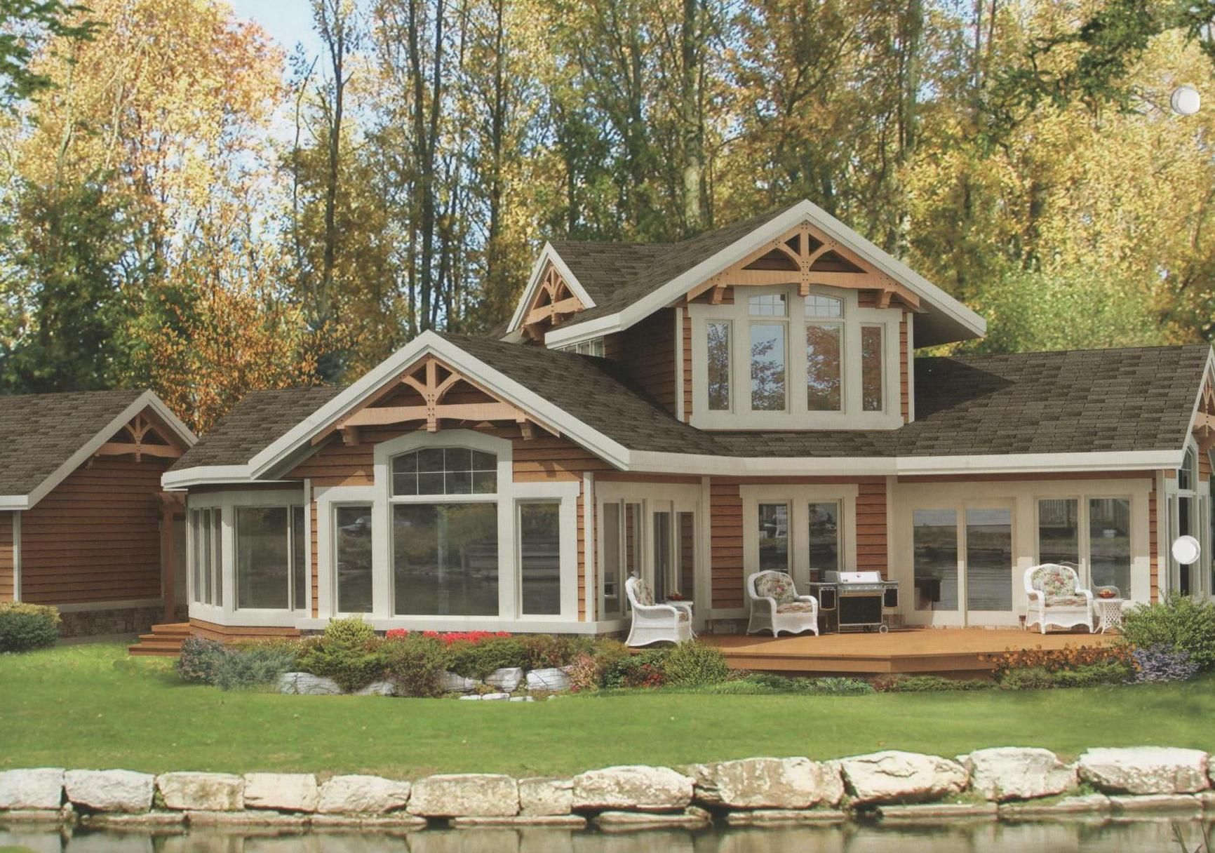 Architectural post beam series viceroy homes for Viceroy homes models