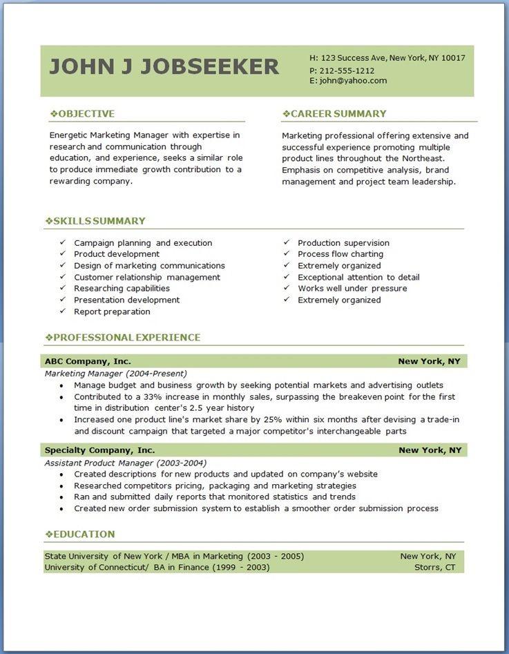 Online Resume Creator Free Download