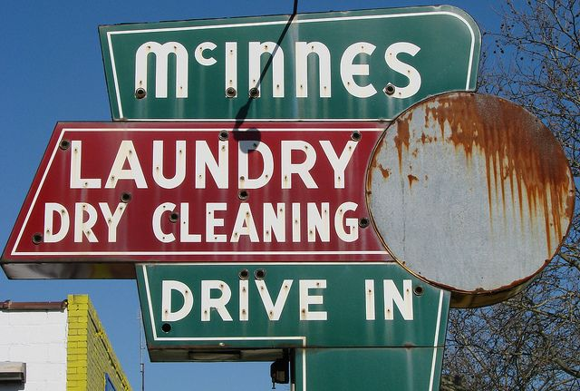 Mcinnes Laundry Historic Sign Is No More Laundry Dry Cleaning