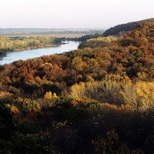 Nebraska: Indian Cave State Park