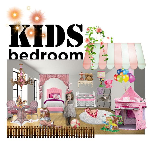 """""""kids bedroom"""" by tambra-cantrell on Polyvore featuring interior, interiors, interior design, home, home decor, interior decorating, Fisher Price, Lambs & Ivy, bedroom and KidsBedroom"""