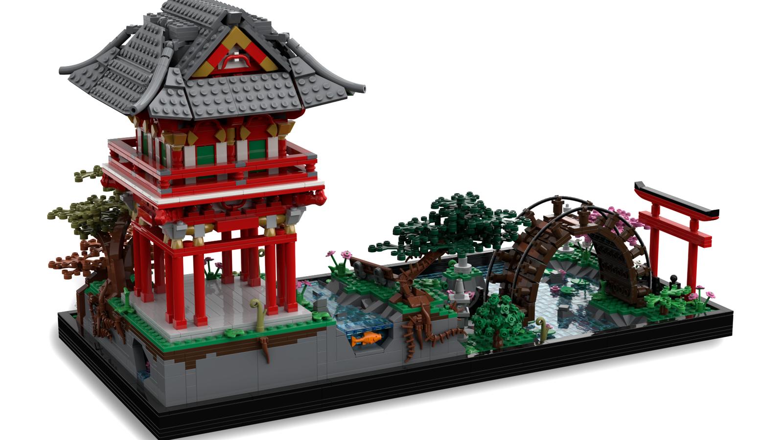 Japanese Tea Garden Japanese Tea House Lego Architecture Lego House