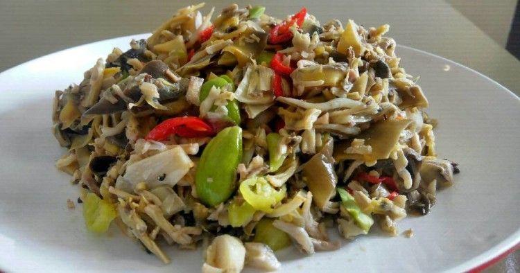 Resep Tumis Jantung Pisang Terasi Belacan Masakan Resep Masakan Makanan Dan Minuman