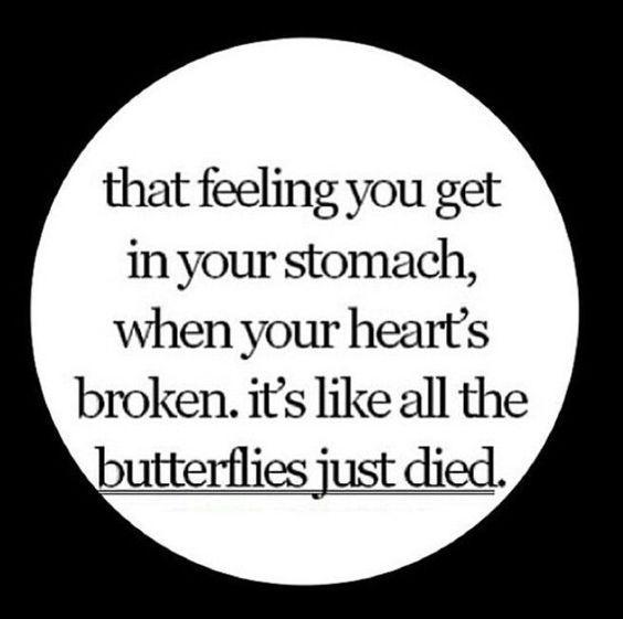 Feelings after a breakup