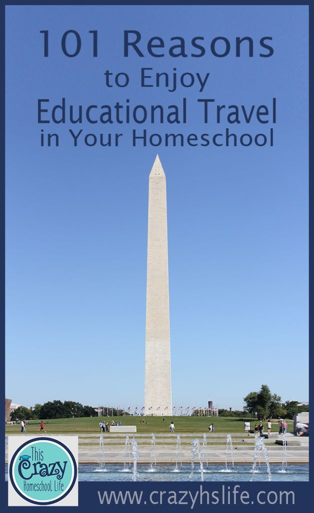 101 Reasons to leave home and learn all over the world. #homeschool #education #travel