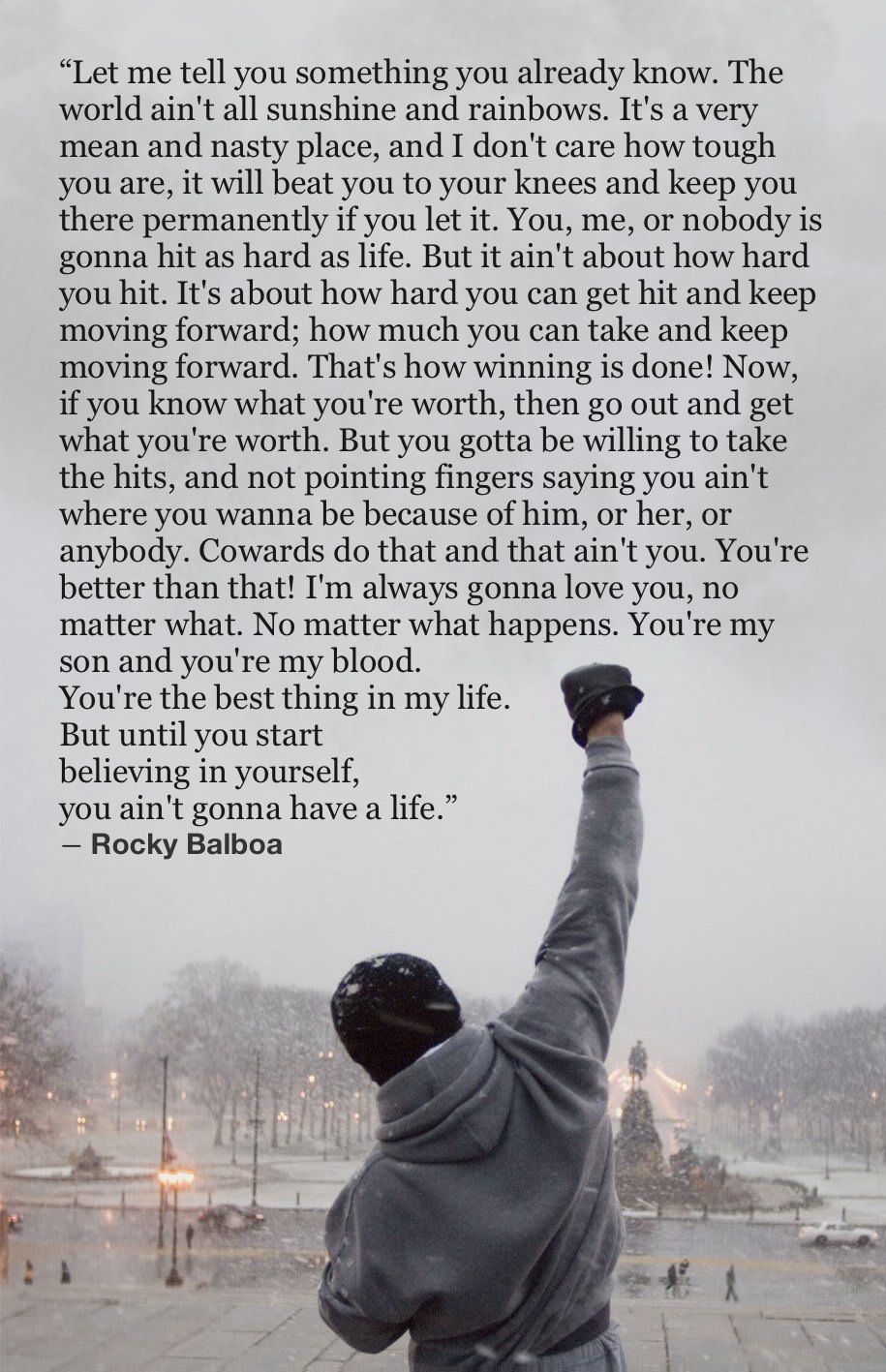 Rocky Quotes Wallpaper : rocky, quotes, wallpaper, Love💙, Rocky, Balboa, Quotes,, Inspiational, Quotes