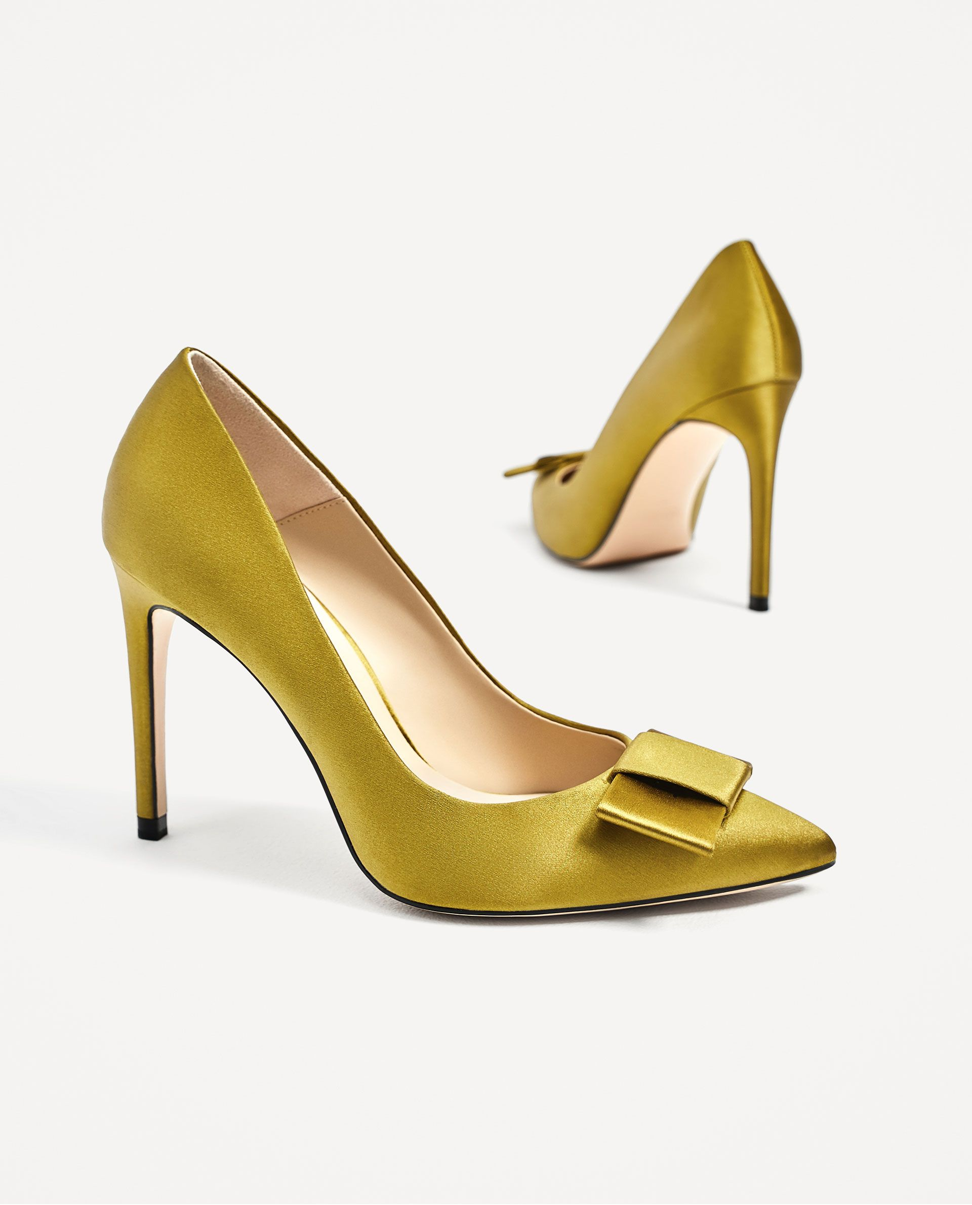 Shoesheels Mnnv80ow Lazo Satin Y Rasoshoeslt;3 Salón Zara Ib7vyYf6gm