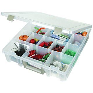 ArtBin Super Satchel Removable Divider Box Art Craft Storage