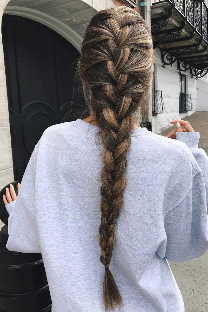 48 Easy Braided Hairstyles Glorious Long Hair Ideas Pretty Braided Hairstyles Thick Hair Styles Braided Hairstyles Easy