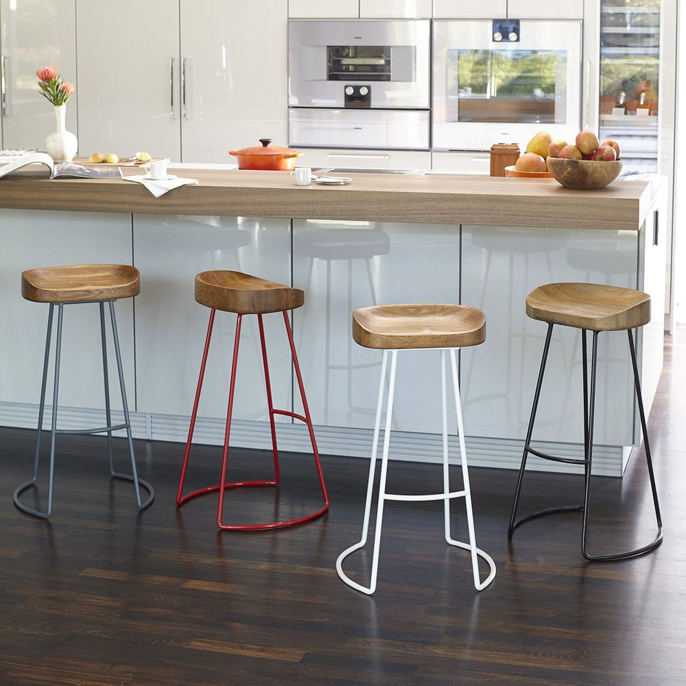 Songmics Lot De 2 Tabourets De Bar Stool Tall Smart And Sleek Stool New For The Home