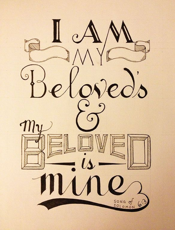 Song Of Solomon 63 This Would Be Nice Painted Above The Bed In Our