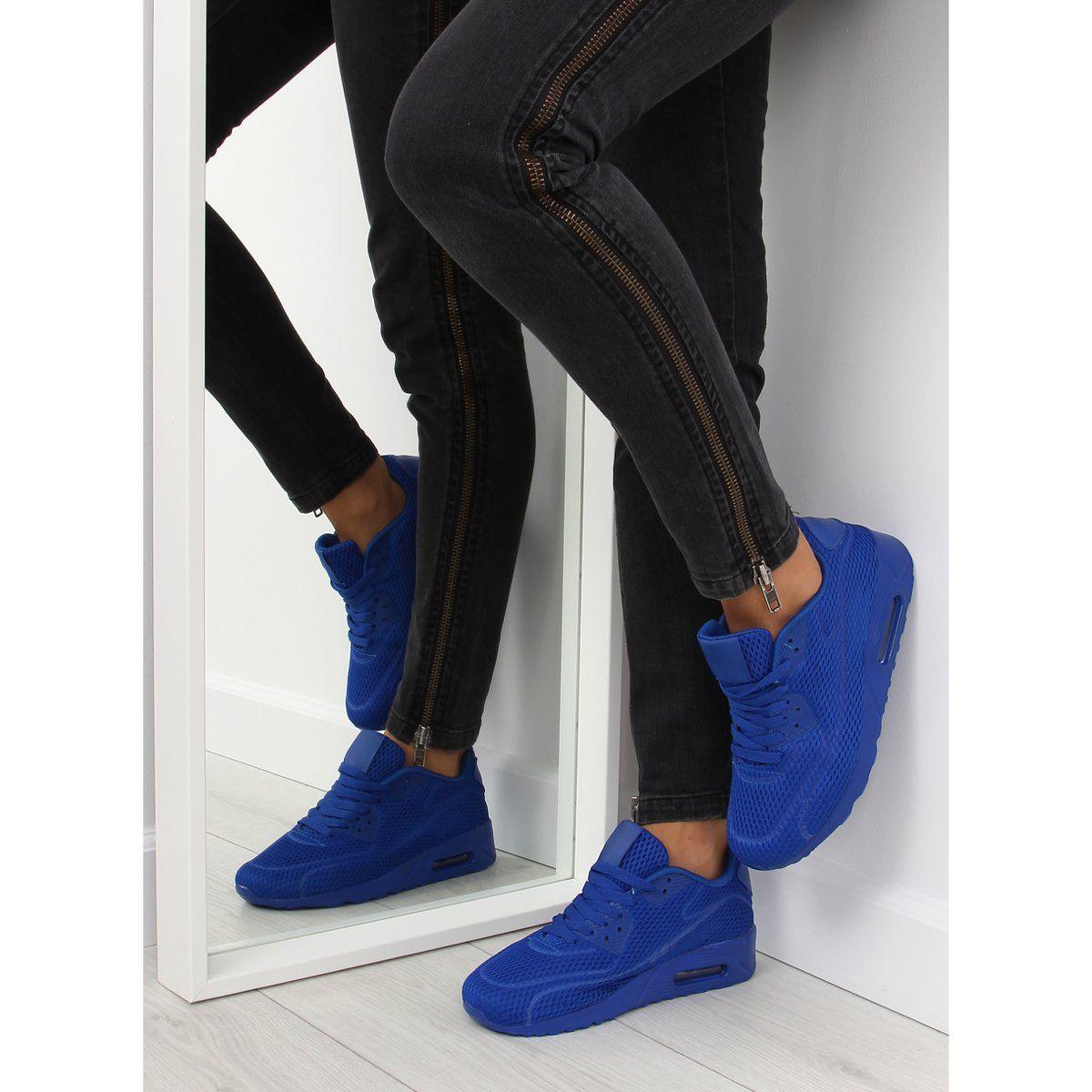 Buty Sportowe Damskie Niebieskie Dsc33 Blue Skinny Jeans Fashion Skinny