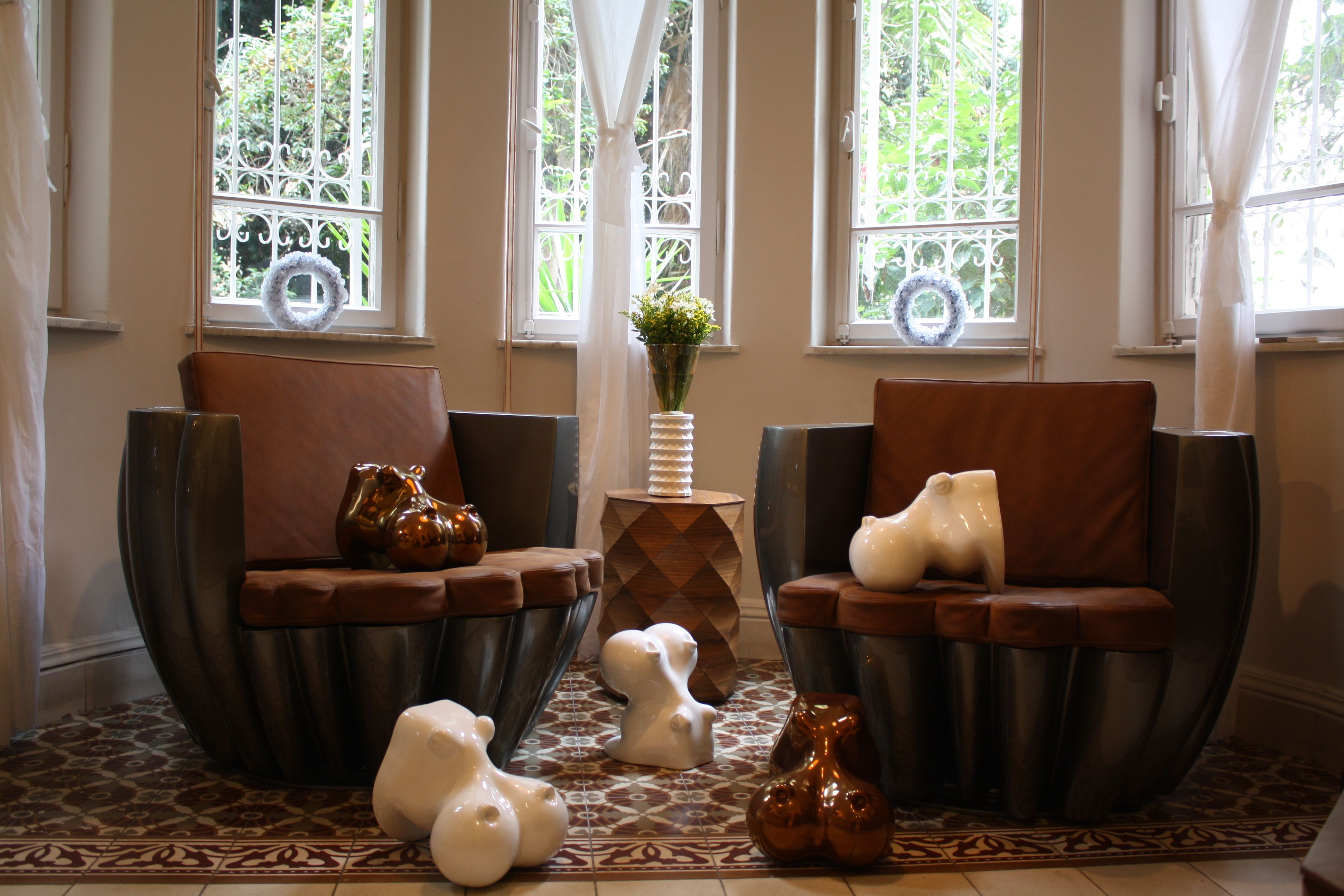 Cloud Armchairs By Samuel Ben Shalom, Jojo The Sex Buddha By Dor Carmon For  Talents