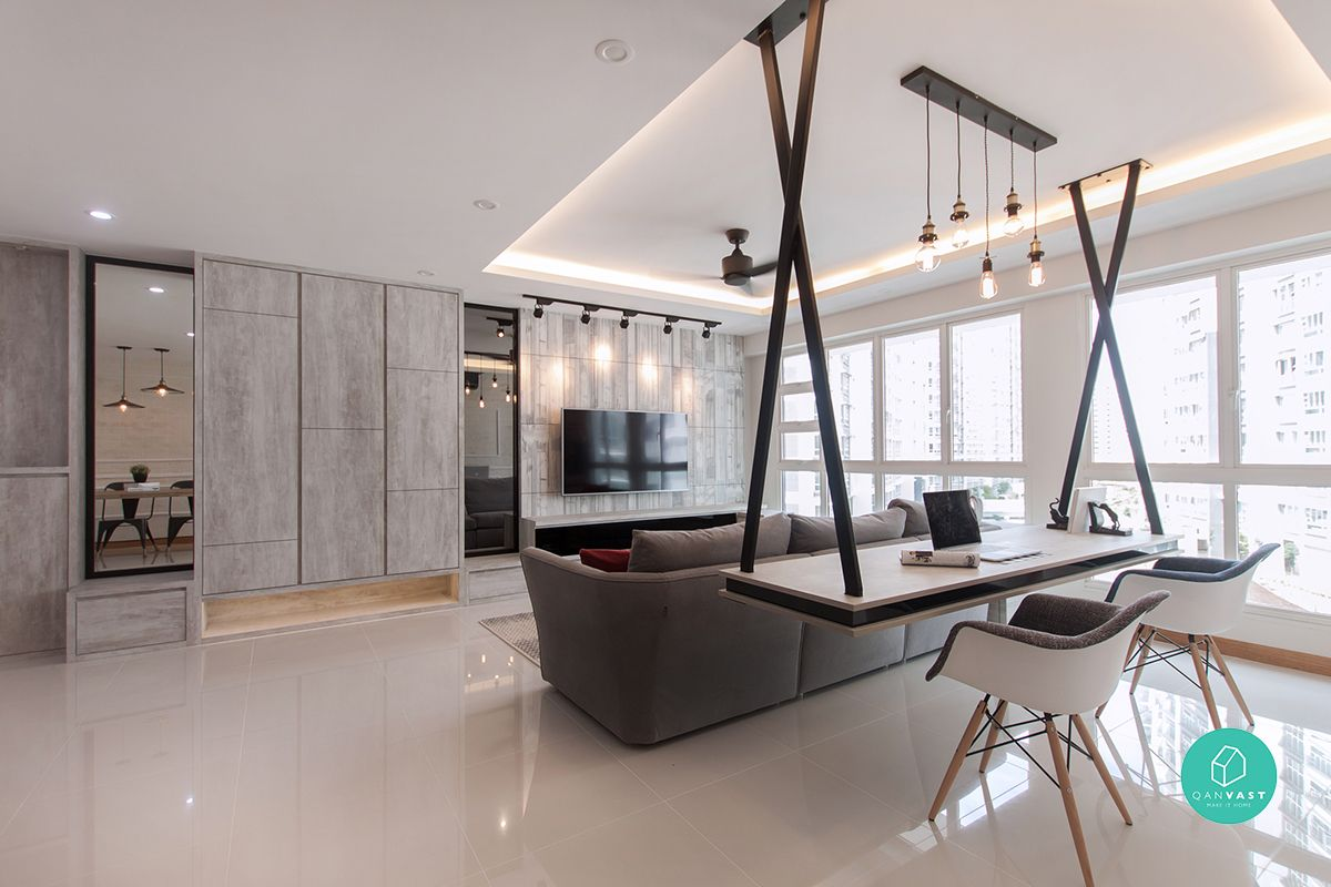 12 Mustsee Ideas For Your 4Room  5Room Hdb Renovation  Room Captivating Hdb 4 Room Living Room Design 2018