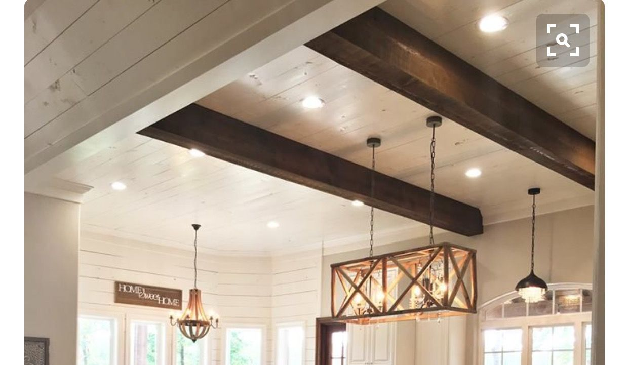 To Maintain Ceiling Height When Finishing Basementstain Enclose Basement How Wire A Idea Wiring Beams Headers With Faux And Shiplap Between Could Create Removable Panels