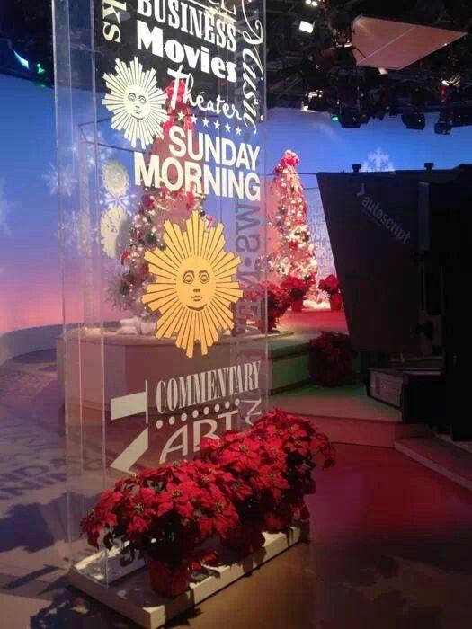 CBS Sunday Morning w/ Charles Osgood. I watch this every Sunday !