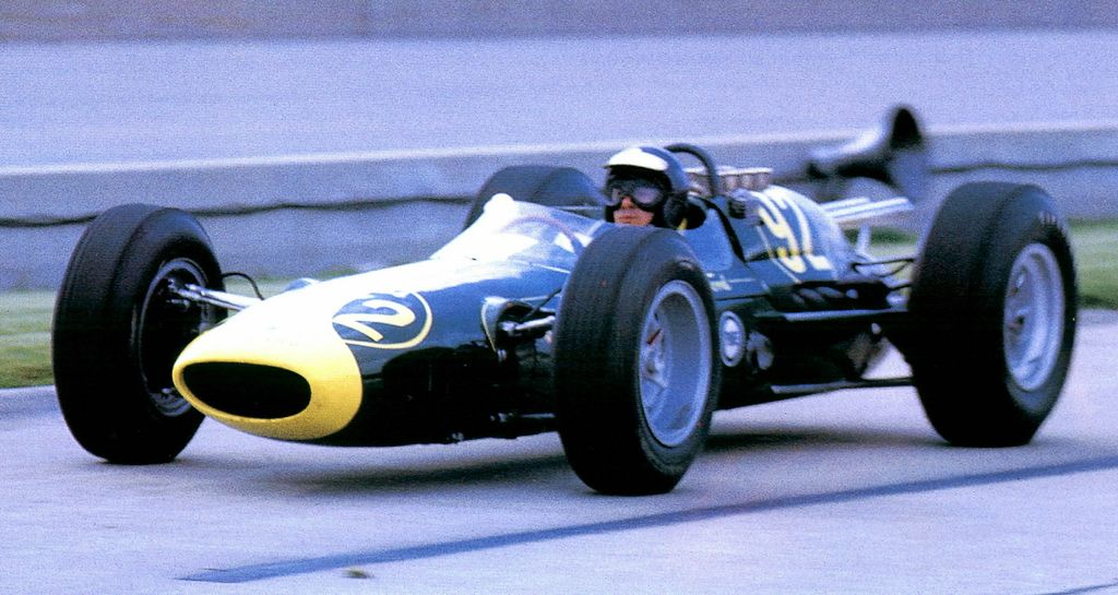 Jim Clark S Lotus Ford 1963 Indy 500 Practice Indy Cars Indy