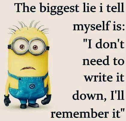 The Biggest Lie I Tell Myself Is:  Design Ideas