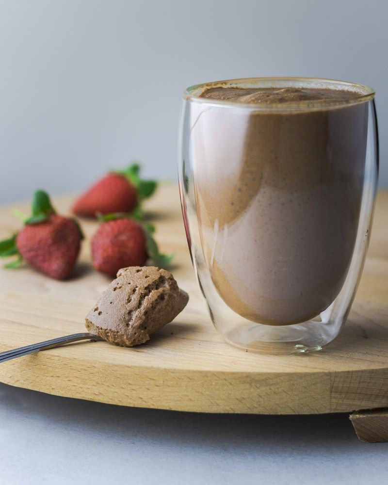 3Ingredient Vegan Chocolate Mousse is part of 3 Ingredient Vegan dessert - Using only 3 ingredients and prepared in 20 minutes, our vegan chocolate mousse is the perfect easy dessert to quickly whip up for family and friends